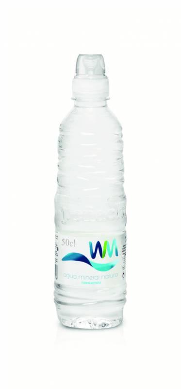 agua pet 50cl sport