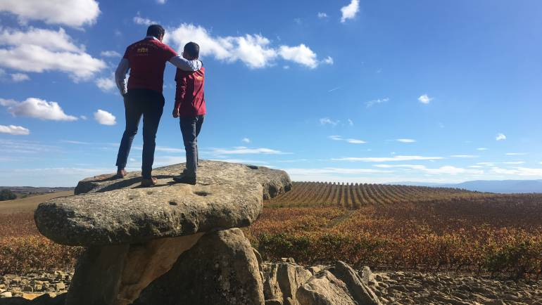 VISIT OF CLIENTS TO RIOJA
